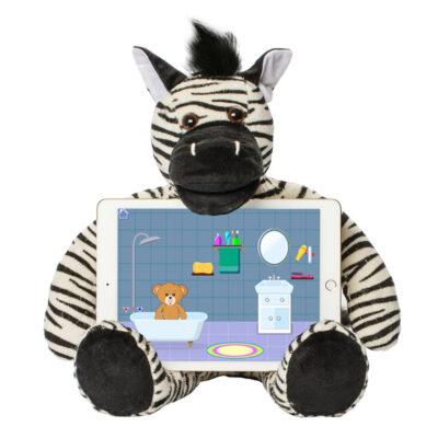 Riley The Zebra - Bluebee Pals