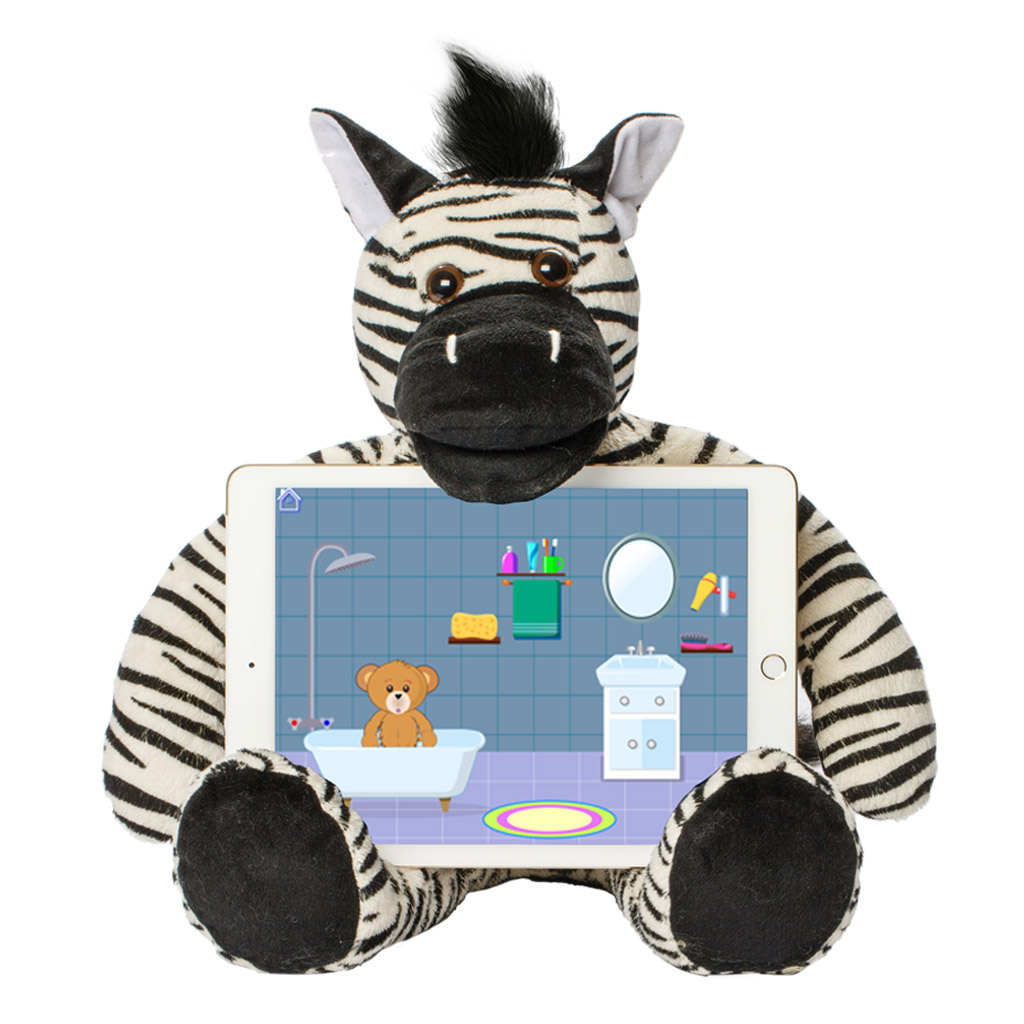 Riley The Zebra - Talking Educational Learning Tool
