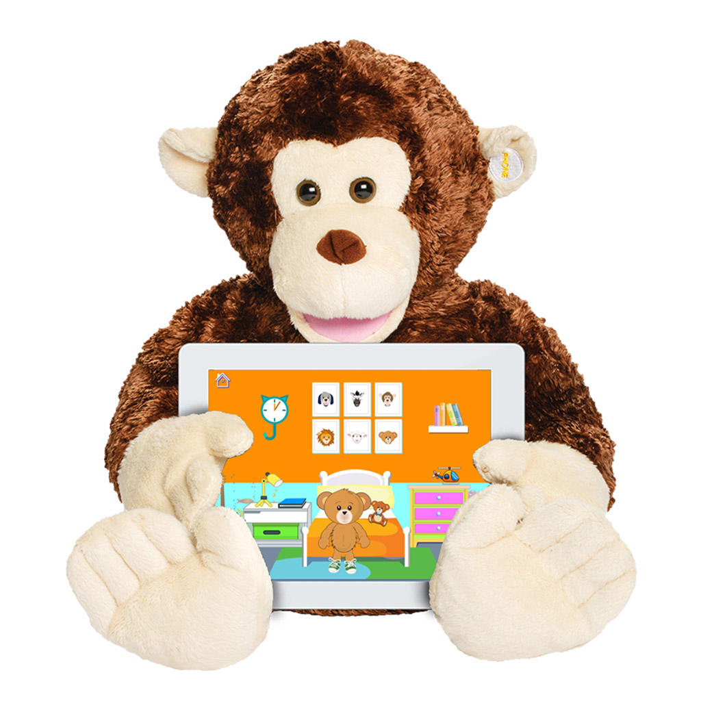 Parker The Monkey - Talking Educational Learning Tool