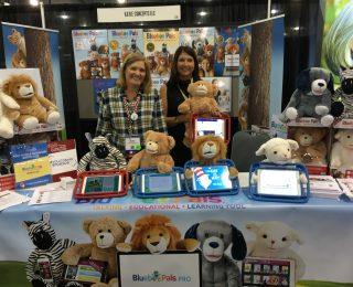 BLUEBEE PALS WERE A HIT AT THE ASHA CONFERENCE