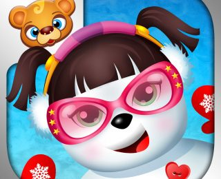 123 Kids Fun Make a Snowman App