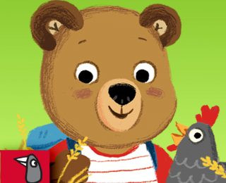 Bizzy Bear on the Farm App by Nosy Crow