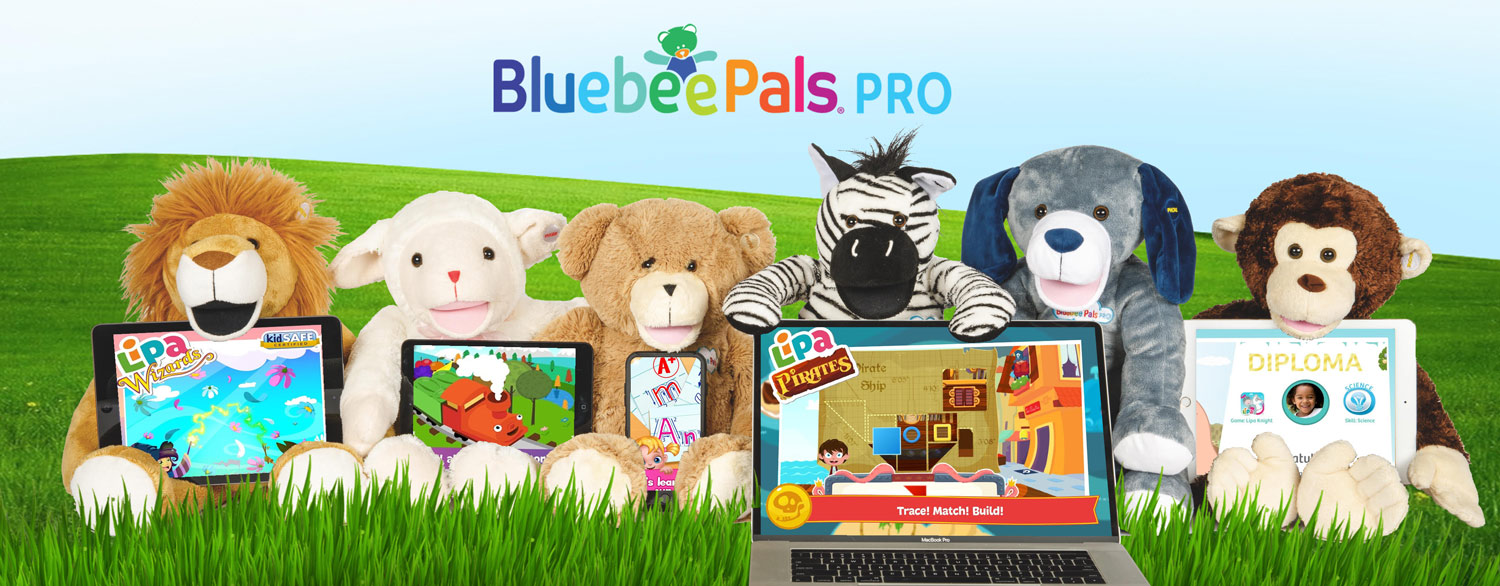 Bluebee Pals And Lipa Apps