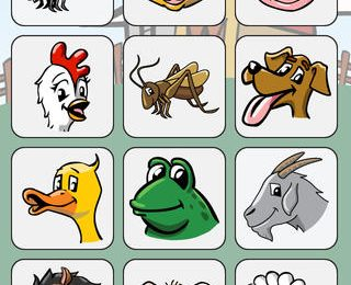 Learning Animal and Vehicle Sounds with Bluebee Pal