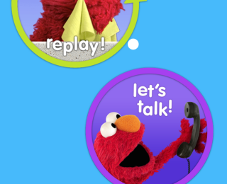Phone Calls with Elmo and Bluebee Pal