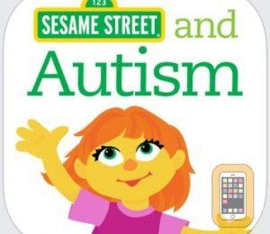 Bluebee Pal meets Julia from Sesame Street