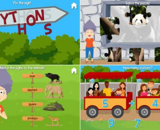 At the Zoo With Grandma and Grandpa App by Fairlady Media – Review