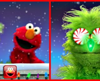 Elmo's Monster Maker Meets Bluebee Pal for the Holiday Season!