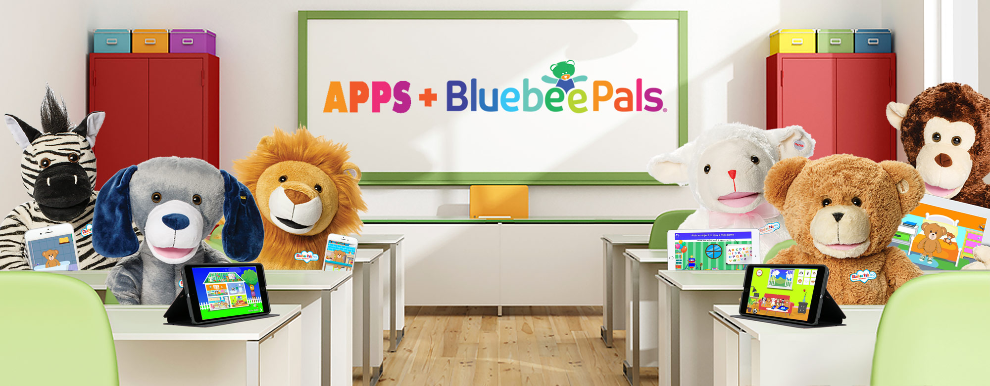 Apps with Bluebee Pals