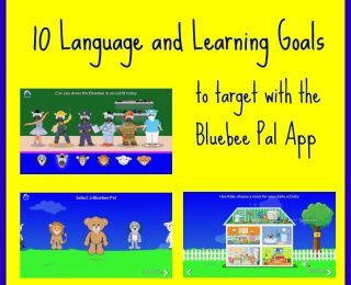 Bluebee App and 10 Language and Learning Goals
