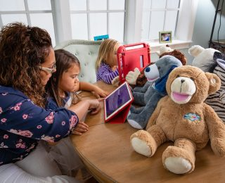 The Magic of Reading with Bluebee Pals