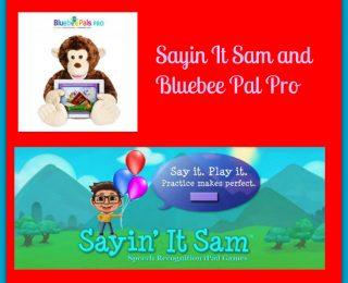 Bluebee Pal and Say it Sam Speech App