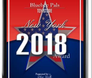 Bluebee Pals Receives 2018 New York Award