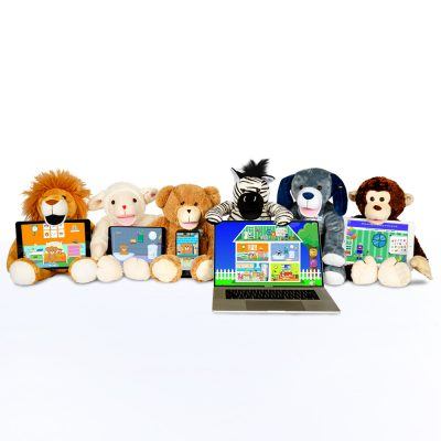 Bluebee Pals Family Pack Group