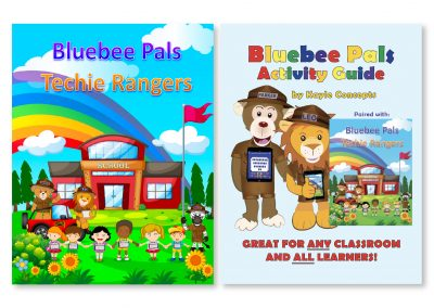 Bluebee Techie Ranger Book & Activity Guide