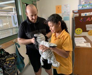 Bluebee Pals Impacts Ipswich Special School in Australia