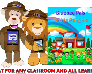 Bluebee Pals Techie Rangers Book, New Release!