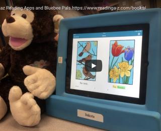 Bluebee Pal and the Raz A-Z Reading Program
