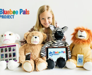 Bluebee Pals Project Donates to White Plains Elementary